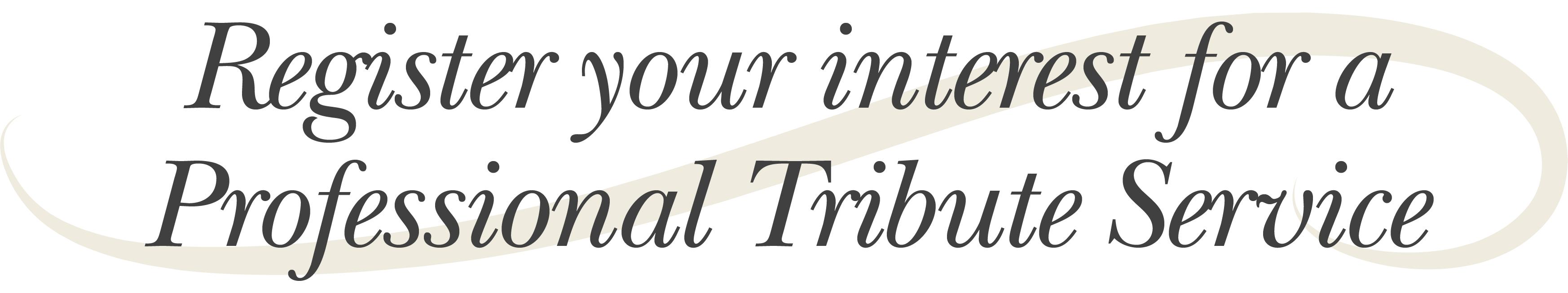 premium obituary title