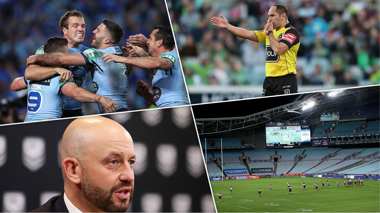 What's changed since the NRL shut down? Quite a lot actually...