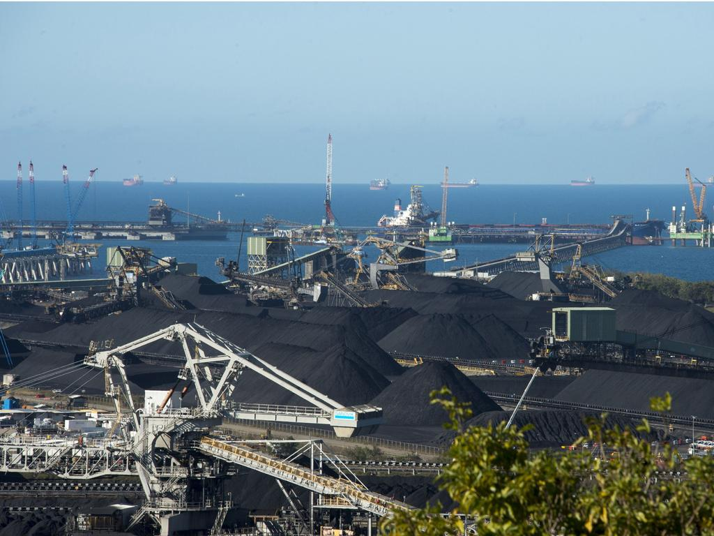 Hay Point and Dalrymple Bay coal terminals employ hundreds of people. Picture: Daryl Wright.