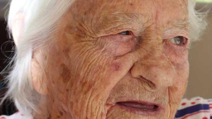 Burnett pioneer's daughter reaches huge milestone