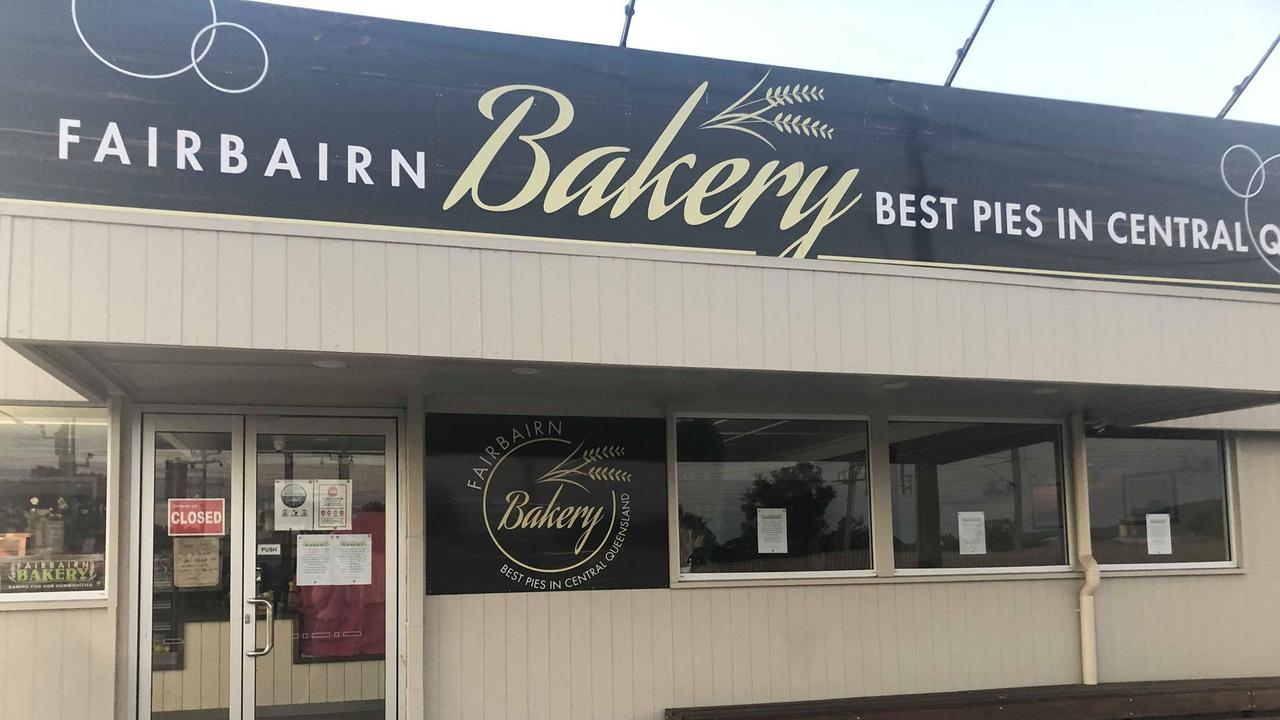 Fairbairn Bakery Blackwater.