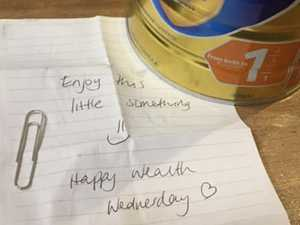 Mum's surprise find in tin of baby formula