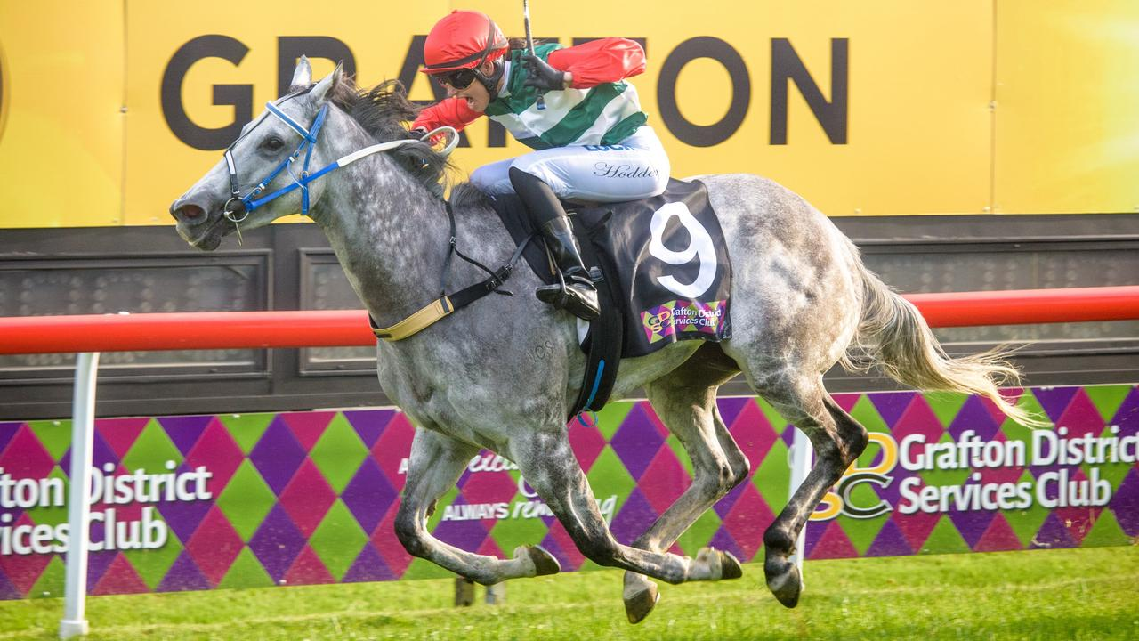 Jockey Belinda Hodder will ride At Witz End in the Beef Week Cup at Casino on Friday. Photo Adam Hourigan