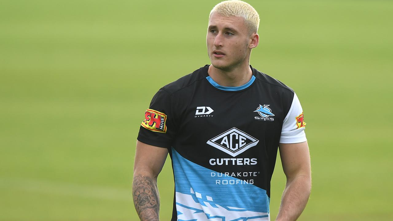 "Sharks youngster Bronson Xerri has broken his silence on the potential four-year drug ban he faces for a failed drug test, saying he is ""devastated""."