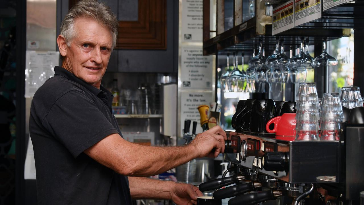 Len Johnston, of Coco Cubano, is looking forward to reduced Mackay Regional Council fees. Picture: Tony Martin