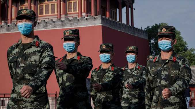China prepares army for war