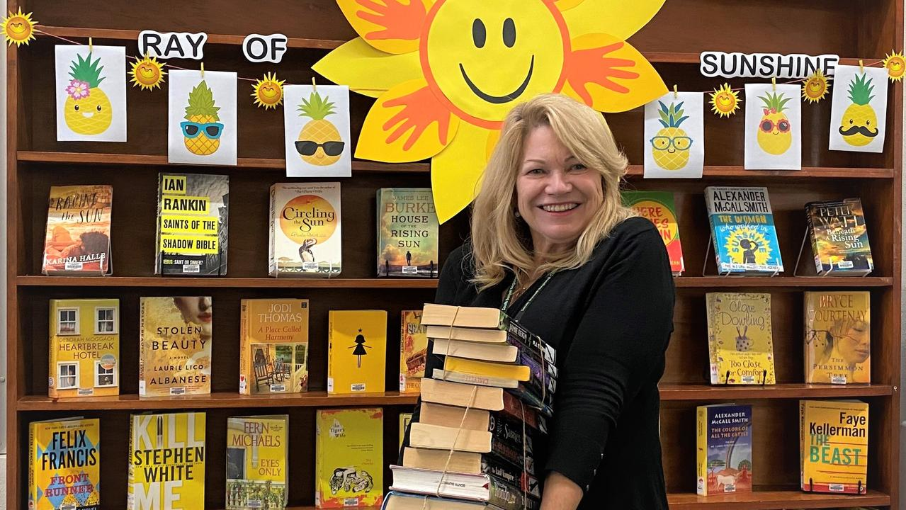 HAPPY DAYS: Librarian Jane Gunn is excited to be back at work at the Kingaroy Library after two months of shut down ceased on Monday.