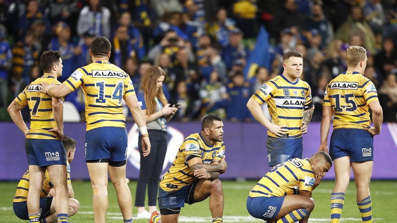 The Eels are yet to prove themselves against the top sides. Photo by Daniel Pockett/Getty Images.