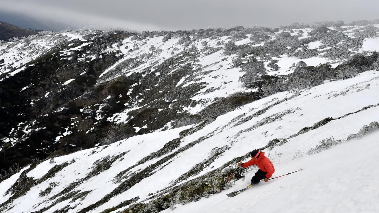 This will be the norm after June 22 as NSW's ski fields open again. Picture: Chris Hocking