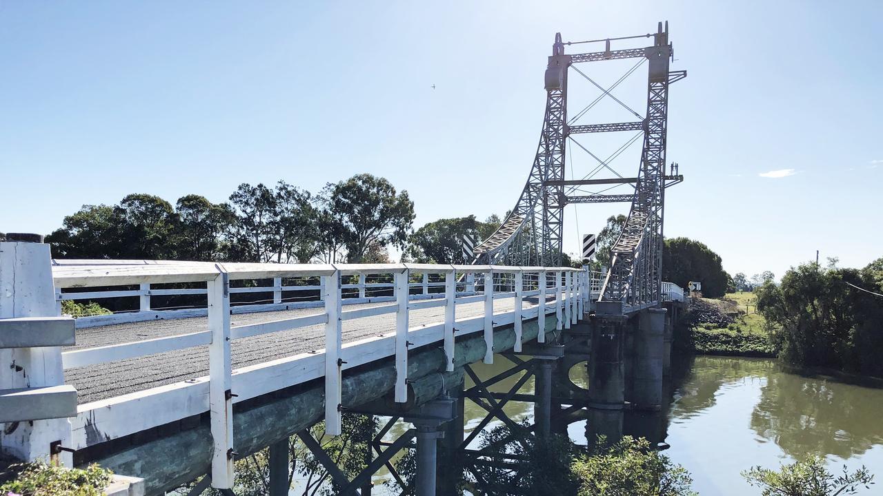 Glebe Bridge at Coraki is being upgraded.