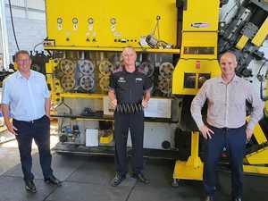Grant helps key Rocky manufacturer spring back into action