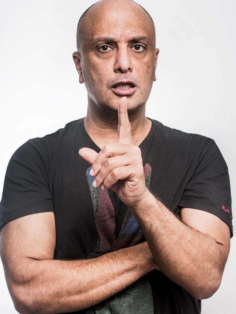 Comedian Akmal Saleh.