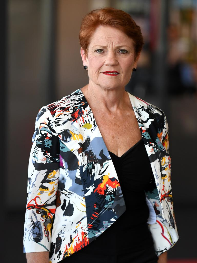 One Nation leader Senator Pauline Hanson says the decision to keep borders closed is 'destroying peoples lives'. Picture: Dan Peled/AAP