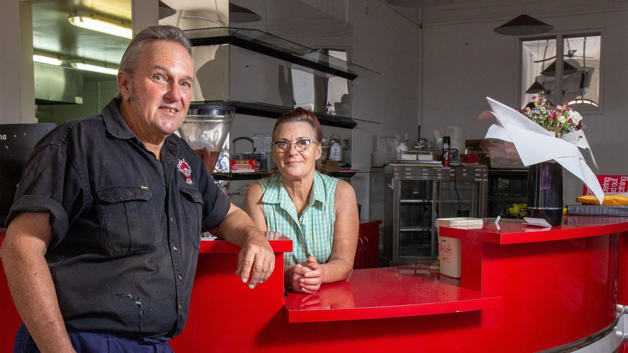 HIGHS AND LOWS: It's been a busy 12 months for Garry and Denise Morris since the shut the doors on their 28-year-long business in Laidley. Picture: Dominic Elsome