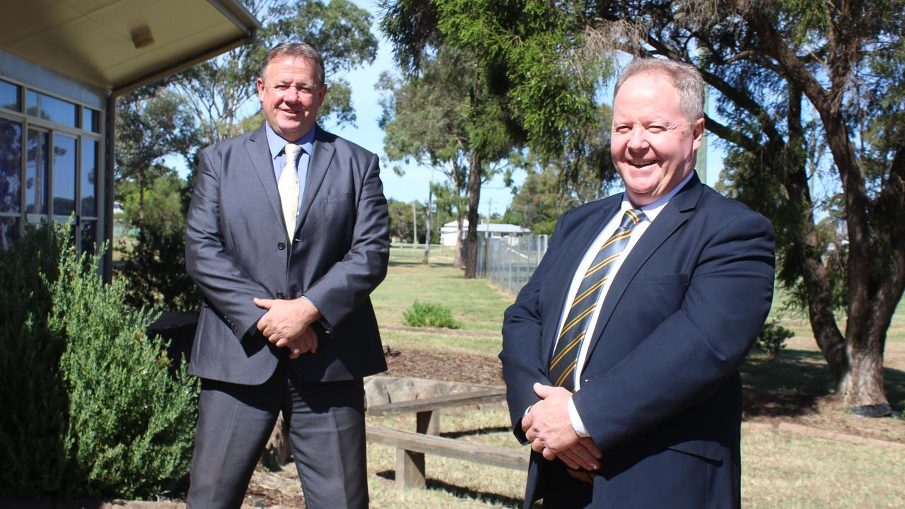 DELIVERY DATE: South Burnett Regional Council Deputy Mayor Gavin Jones and Mayor Brett Otto are confident they will be able to deliver 'toughest budget' in years on Wednesday, July 15. Photo: Laura Blackmore