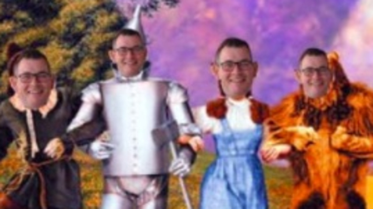 More than 8000 people have joined in on a viral internet Facebook trend dedicated to poking fun at Victorian Premier Daniel Andrews.