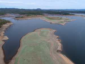 Paradise Dam at 44% capacity.