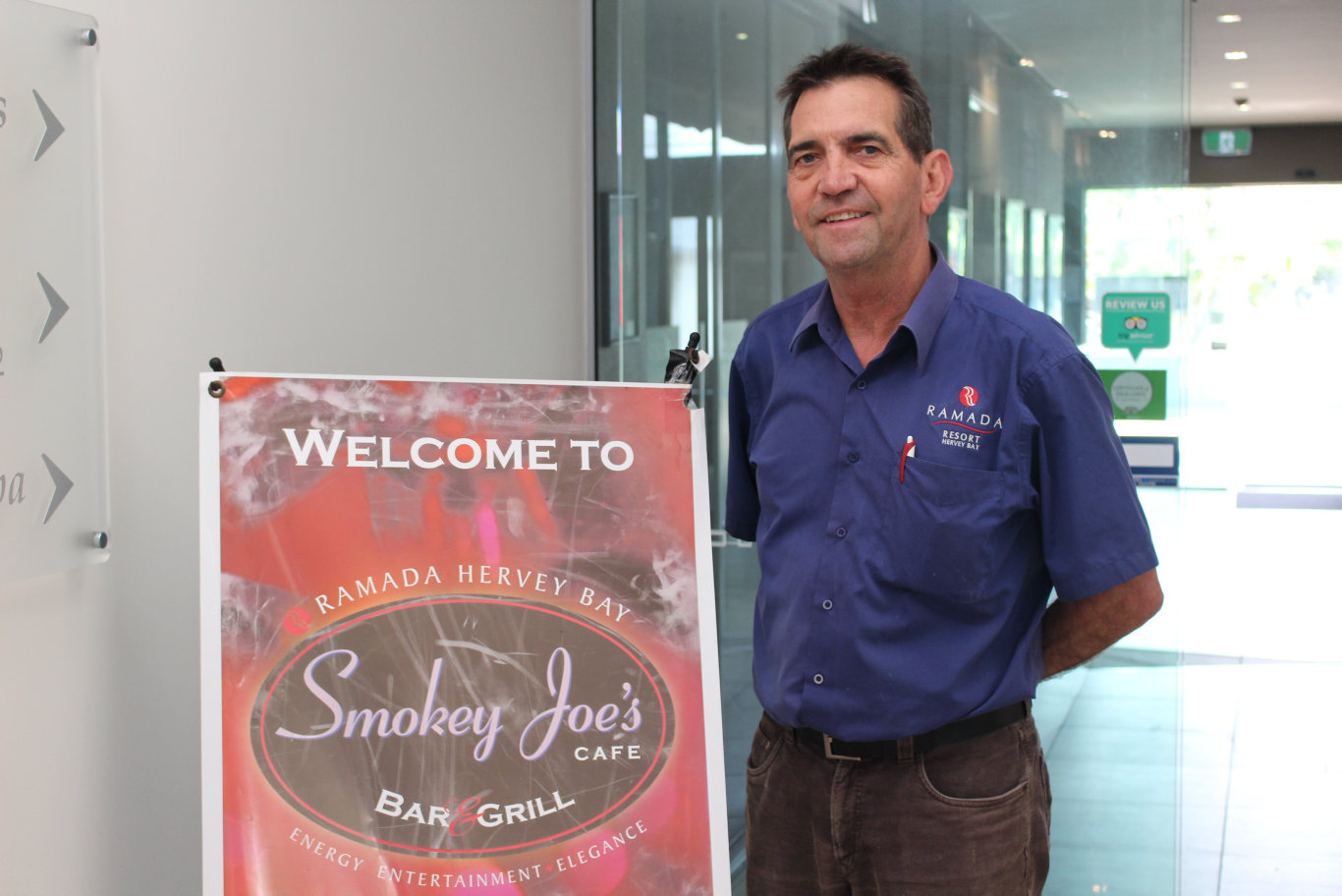 Ramada by Wyndham Hervey Bay manager Peter Bard.