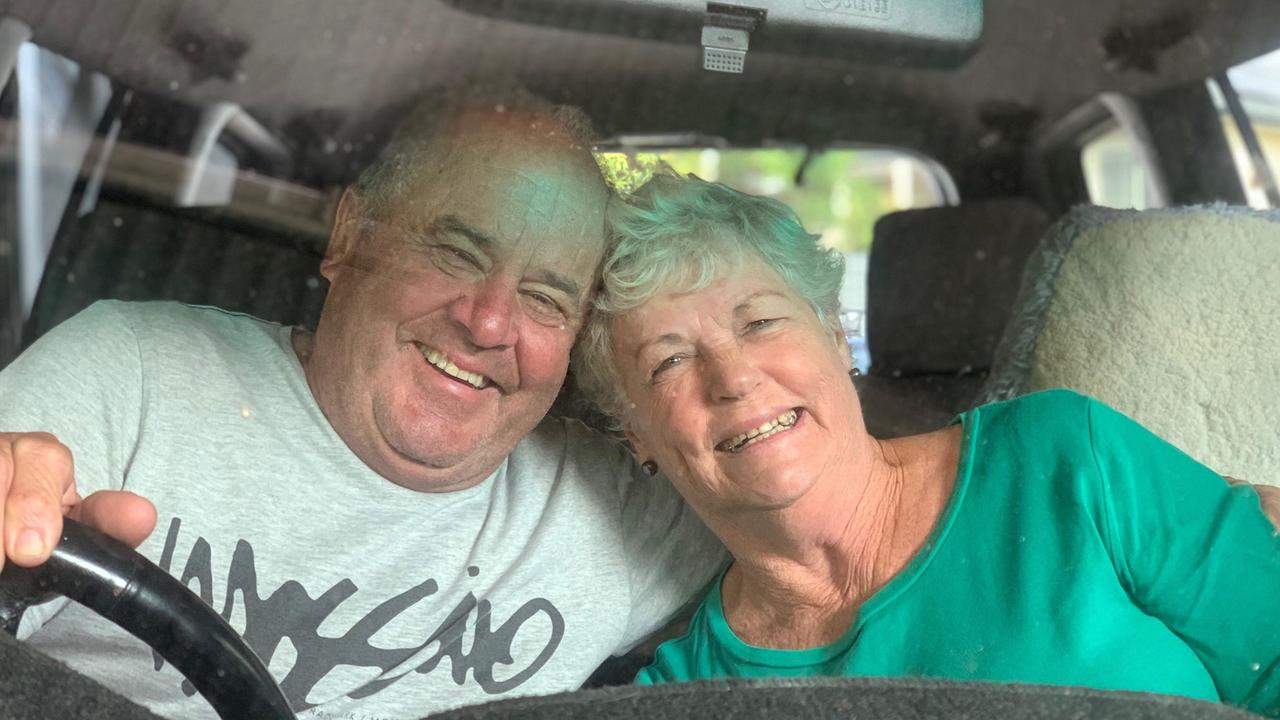 ENTERTAINMENT: Sandy and George Korac loved going to the drive-in movies. Picture: Contributed.