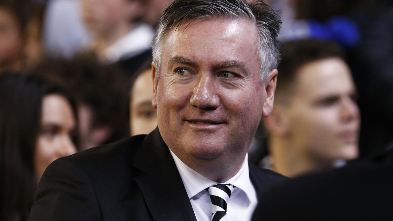 Eddie McGuire is in the thick of things again.