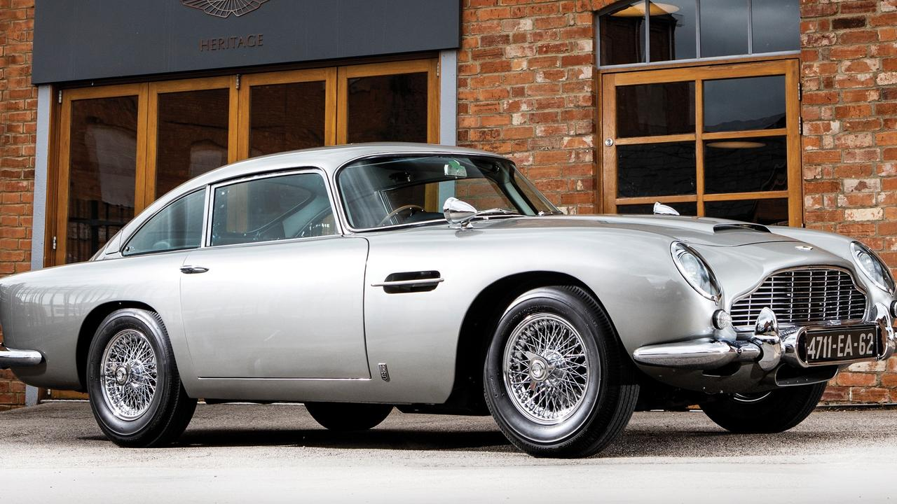 The Aston Martin DB5 is one of the world's most recognisable cars.