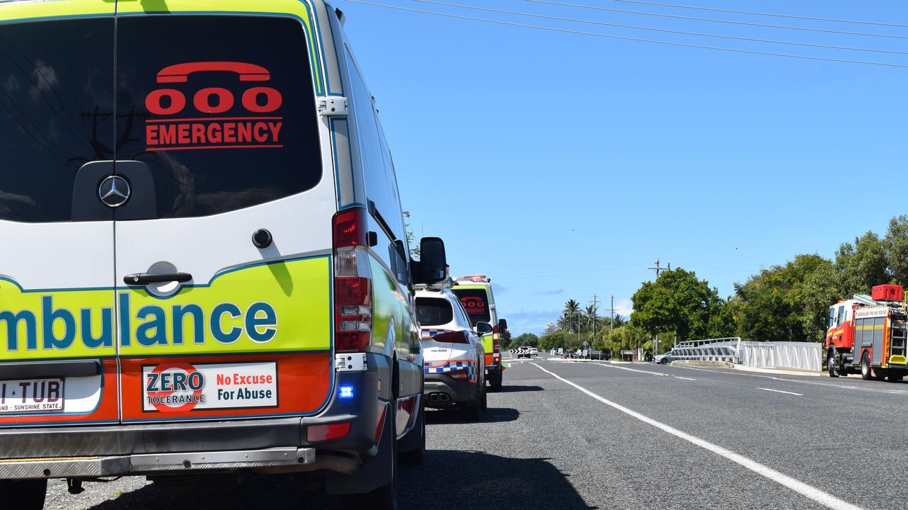 A Queensland Ambulance Service spokesman said crews have been called to the single vehicle crash near Nebo at 12.59pm. Photo: Zizi Averill.