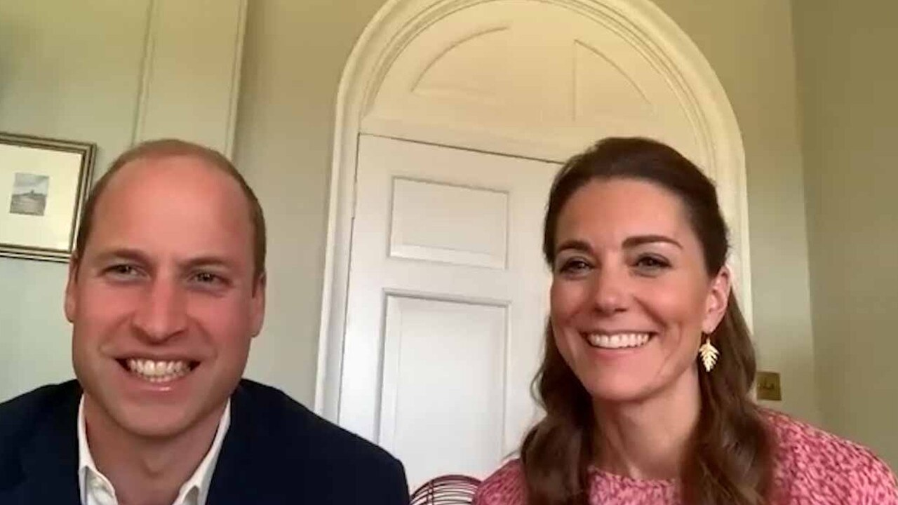 Prince William and Kate Middleton have been the very public face of the royal family during the coronavirus crisis. Picture: Getty Images