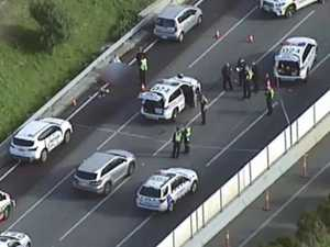 Why cops shot 'distressed' man on side of freeway