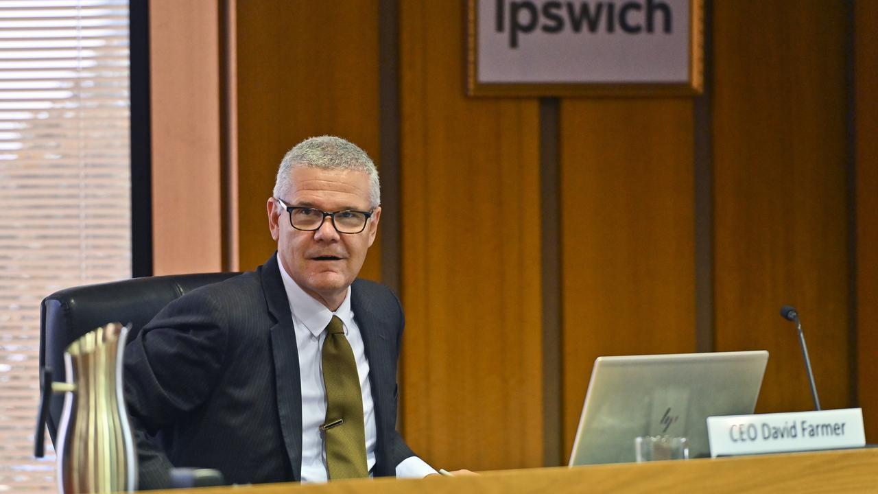 Ipswich City Council CEO David Farmer. Picture: Cordell Richardson