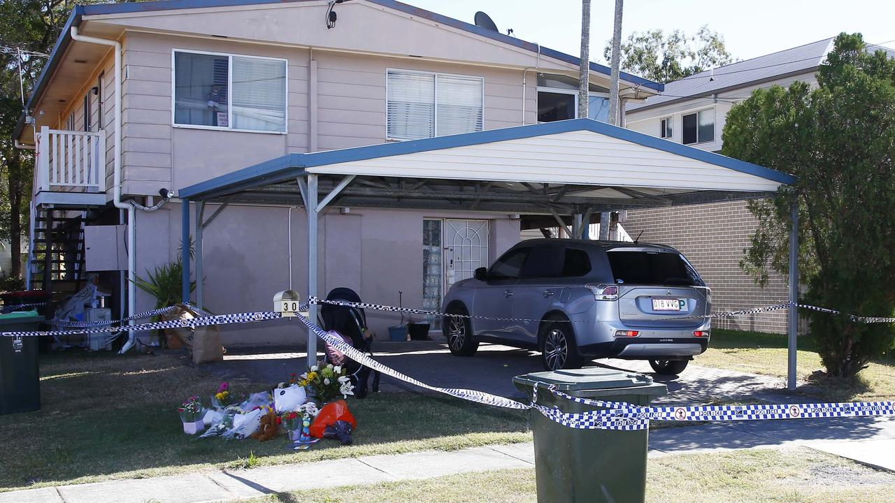 The Bent St property where little Willow was found dead on Monday. Picture: Tertius Pickard.