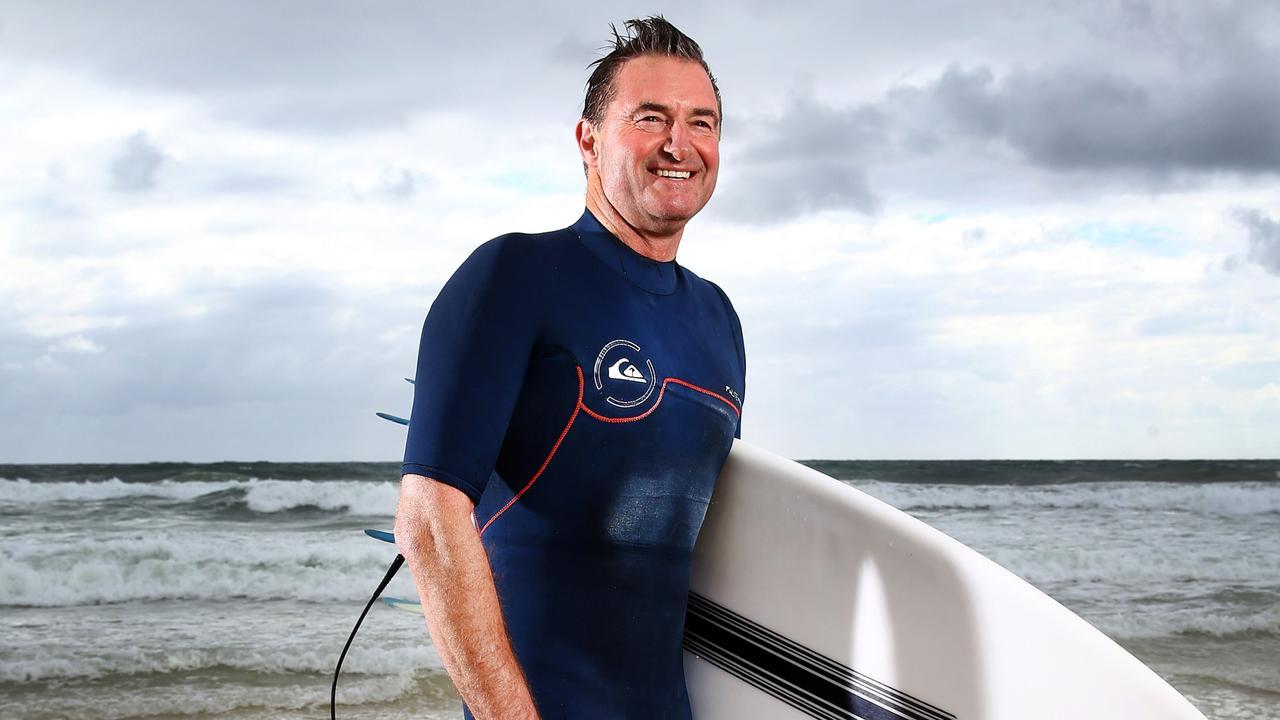 Wyndham boss Barry Robinson on the Gold Coast.