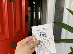 Gladstone woman 'shocked' after lotto win