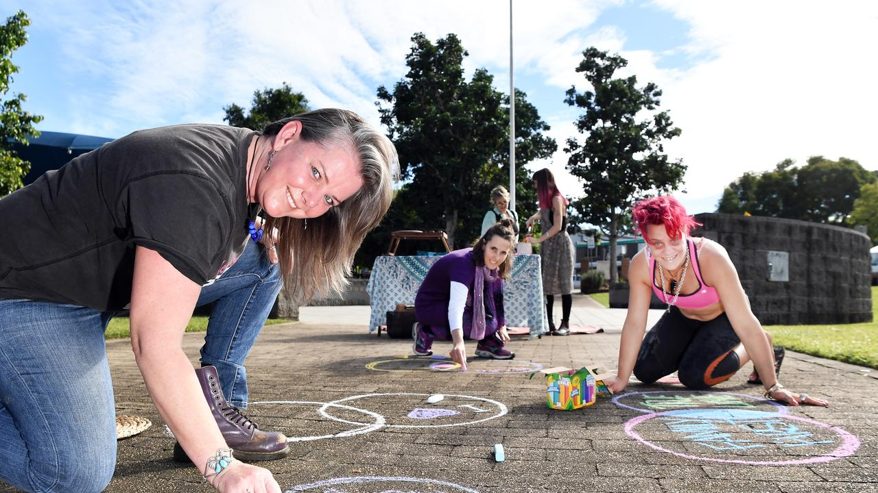 AWARENESS: Nambour Community Centre believes a community response is needed to combat domestic and family violence. Pictured, Angela Ronda. Photo Patrick Woods.