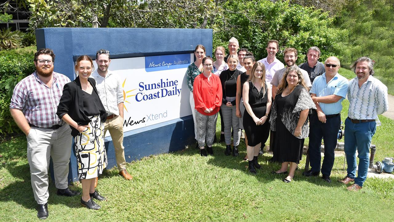 Sunshine Coast Daily editorial staff. Photo Patrick Woods / Sunshine Coast Daily.
