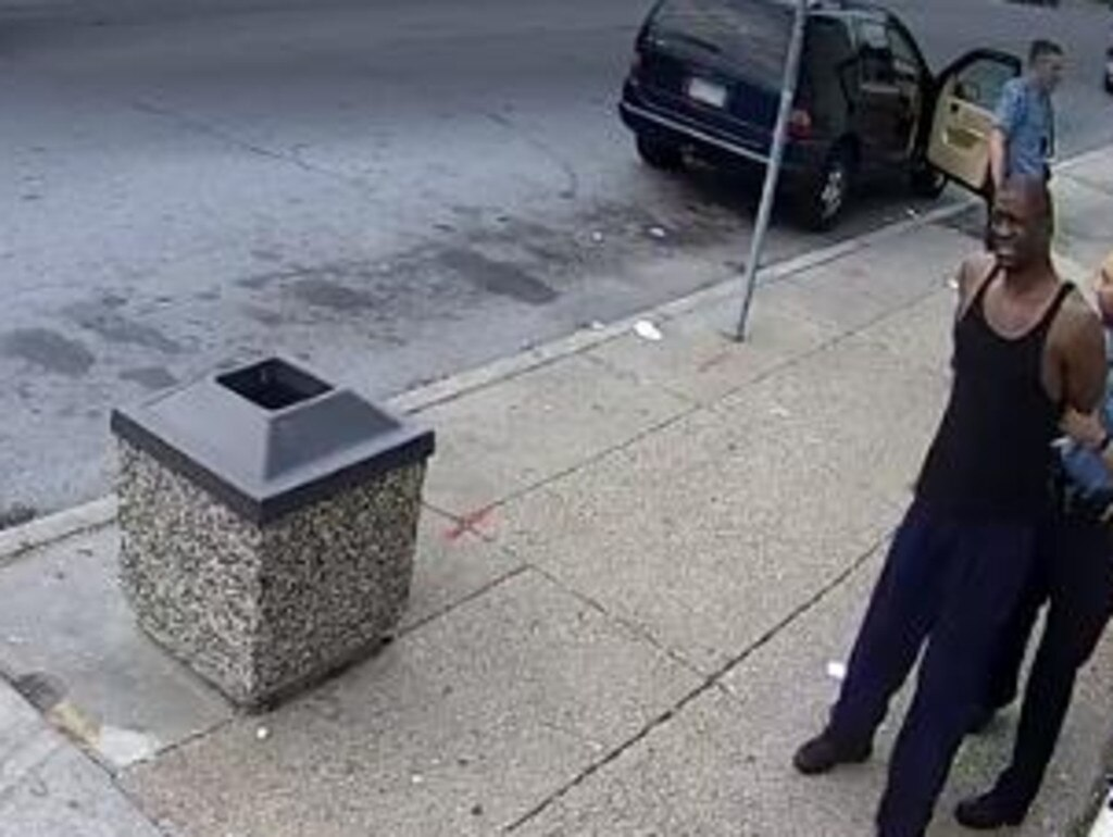 New CCTV footage shows George Floyd complying with police officers in the minutes before his death.