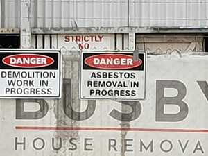Residents concerned about asbestos demolition job
