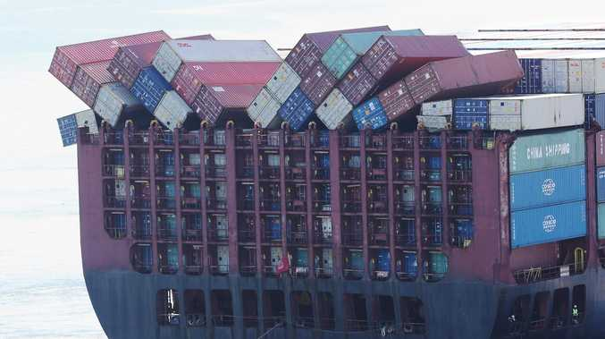 Troubled cargo ship has serious defect