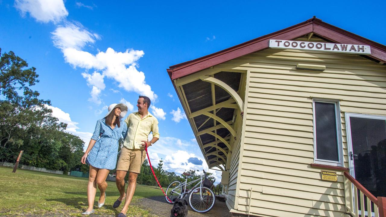 The Brisbane Valley Rail Trail is one of the biggest tourism draws in the Somerset Region.