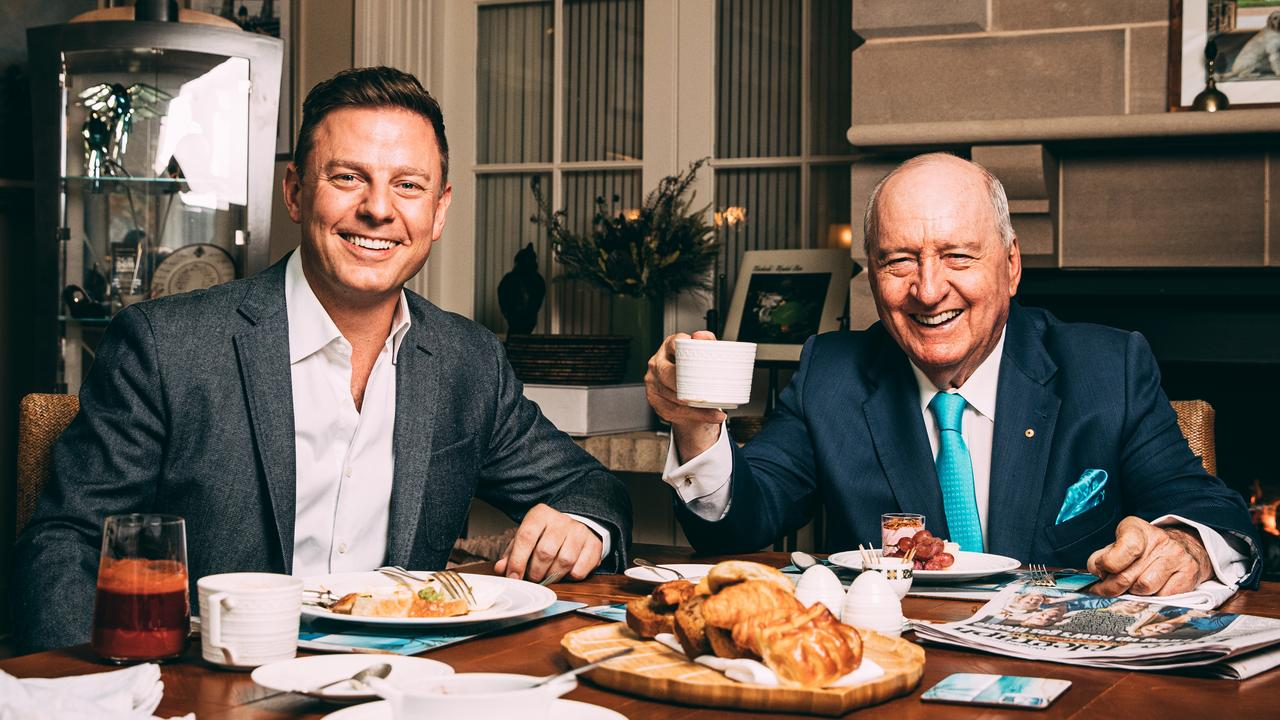 After 35 years ruling the radio airwaves, Australia's reigning breakfast king Alan Jones will hang up the microphone.