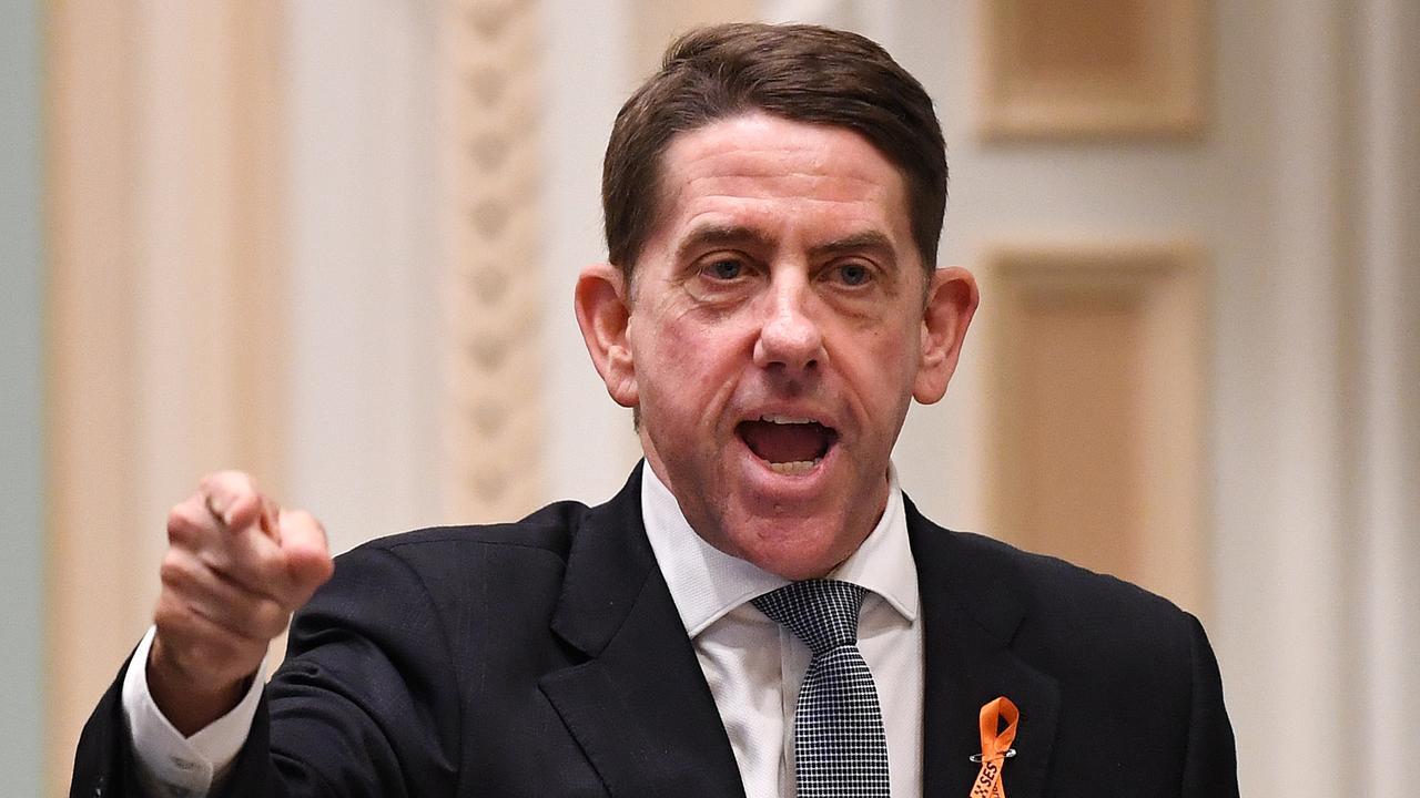 Queensland Treasurer Cameron Dick. Picture: AAP Image/Dan Peled
