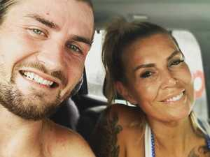 WAG saved footy star from himself