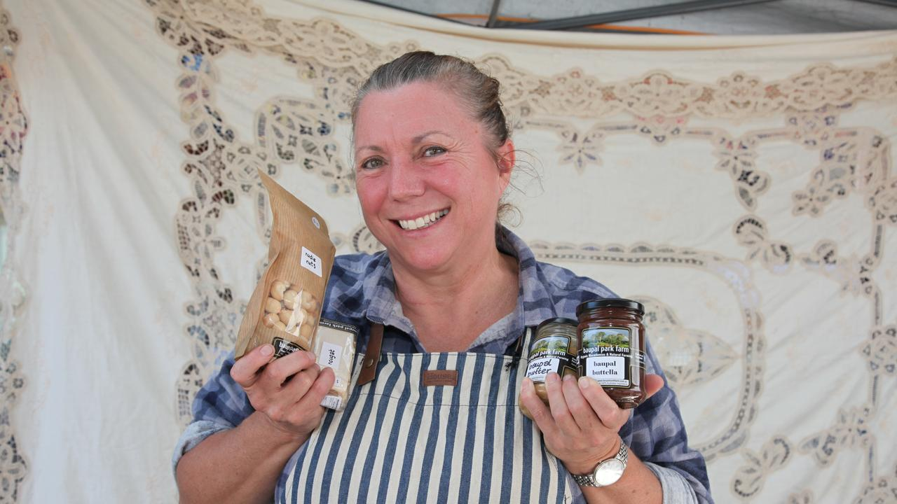 Catherine Rose is rapt to be back at the Maryborough market.
