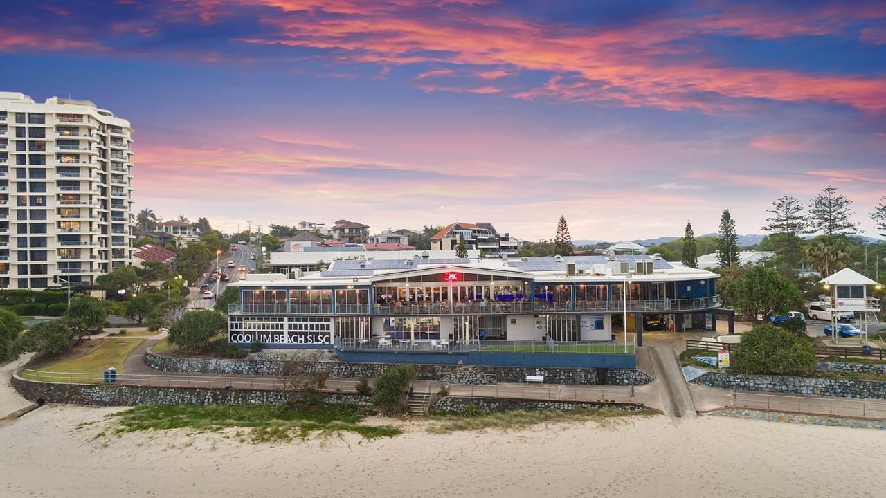 Coolum Beach Surf Life Saving Club.