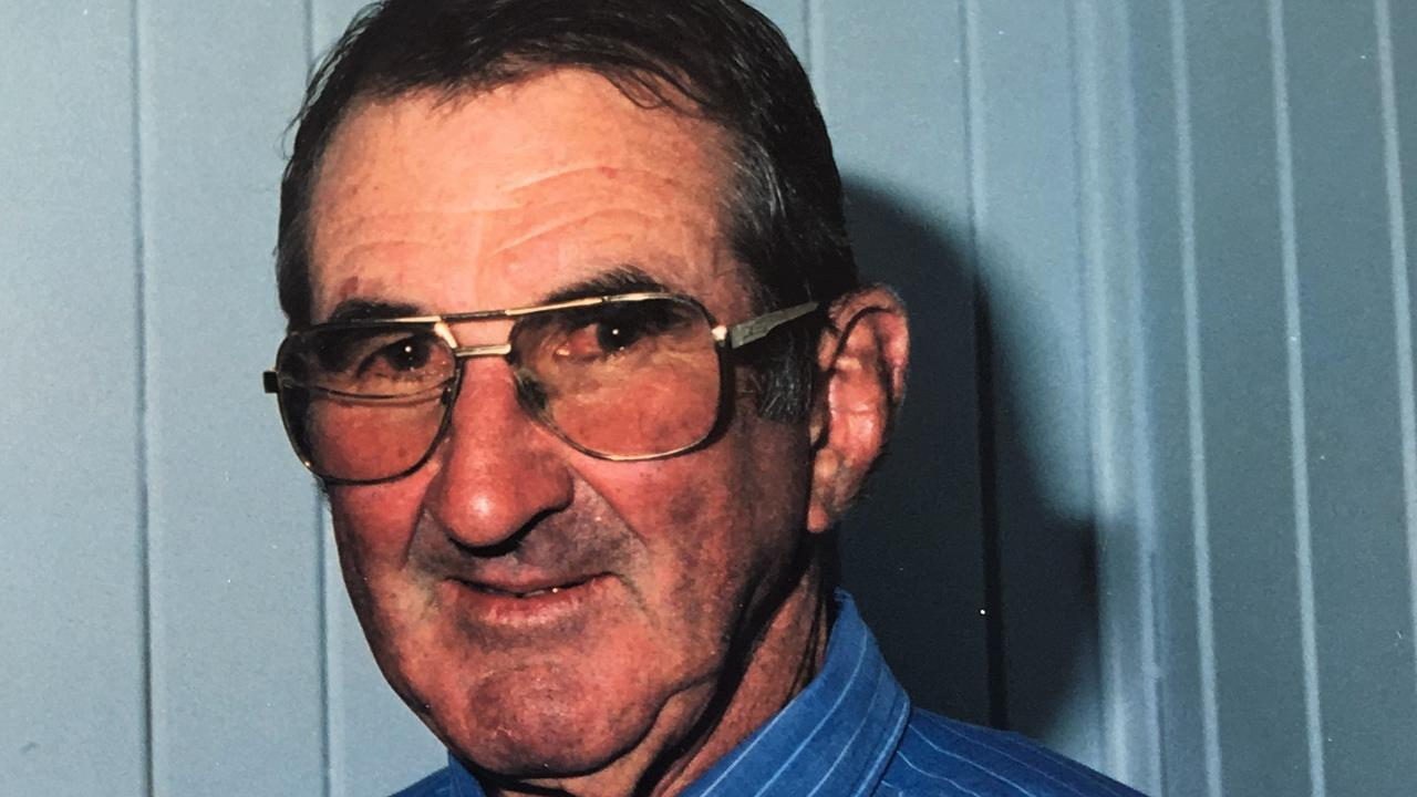 IN MEMORY: Glyn Rees pays tribute to Brian Phelan, a local legend of rugby league. Picture: contributed