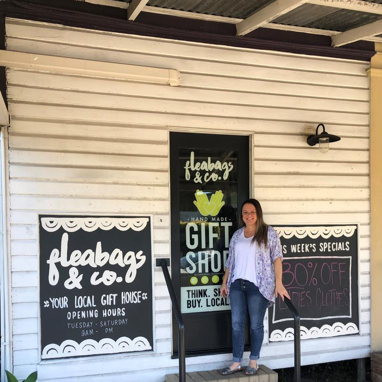 Fleabags & Co Marian store vendor manager Amanda O'Dea said online orders had become a big part of business since COVID-19.