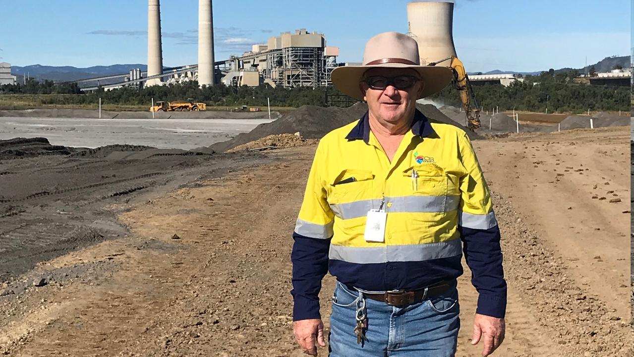 POWERING ON: Bruce Robson is the Supervisor of the Waste Containment Facility at CS Energy's Callide Power Station.