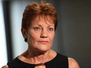 Hanson 'desperate for headlines' over border - Miles