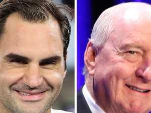 Federer's parting message to Alan Jones