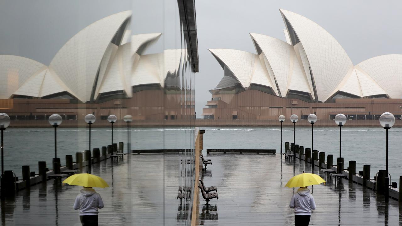 Sydney will be wet but is likely to have more average conditions during winter. Picture by Damian Shaw