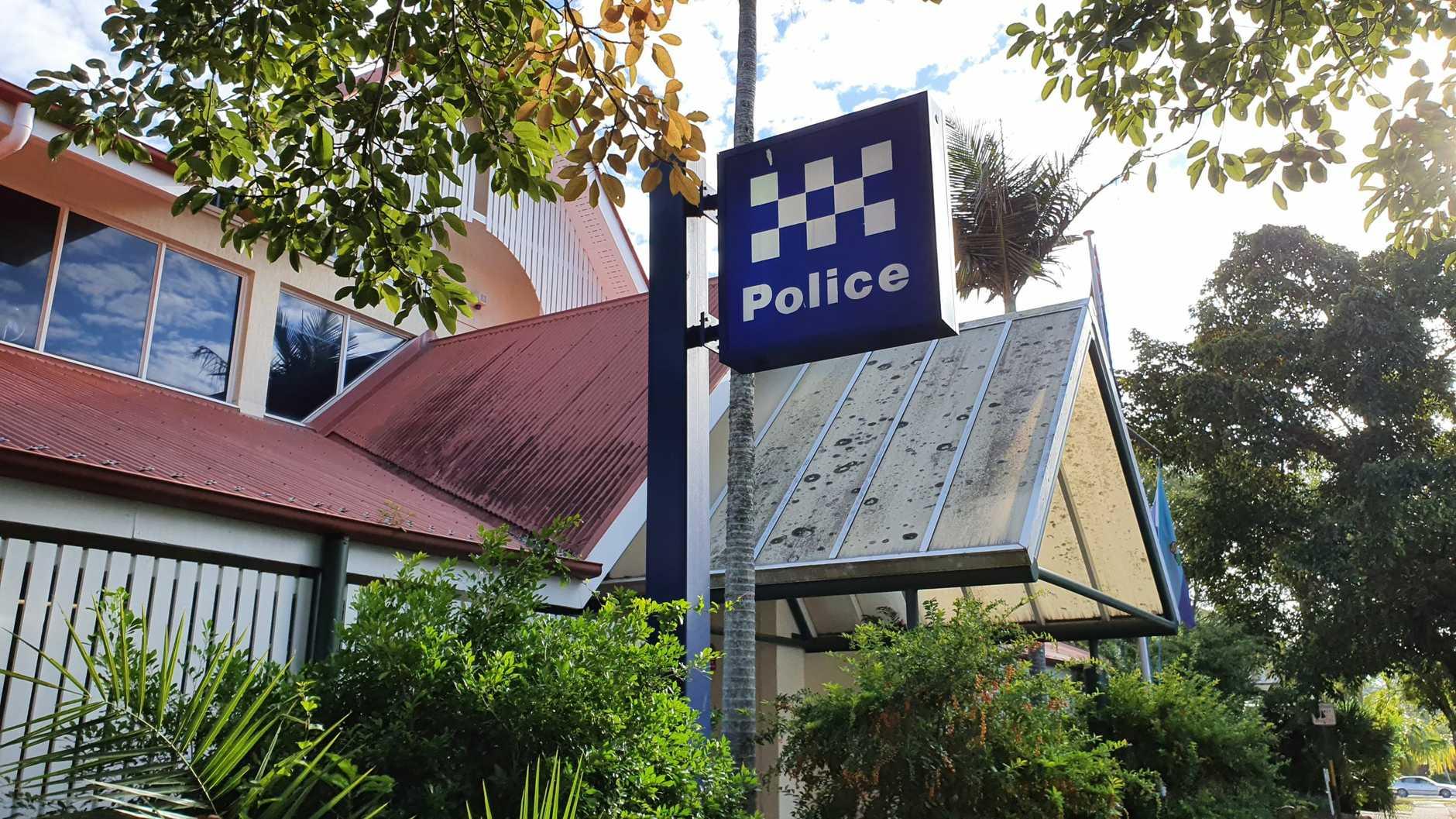 Maryborough police station.